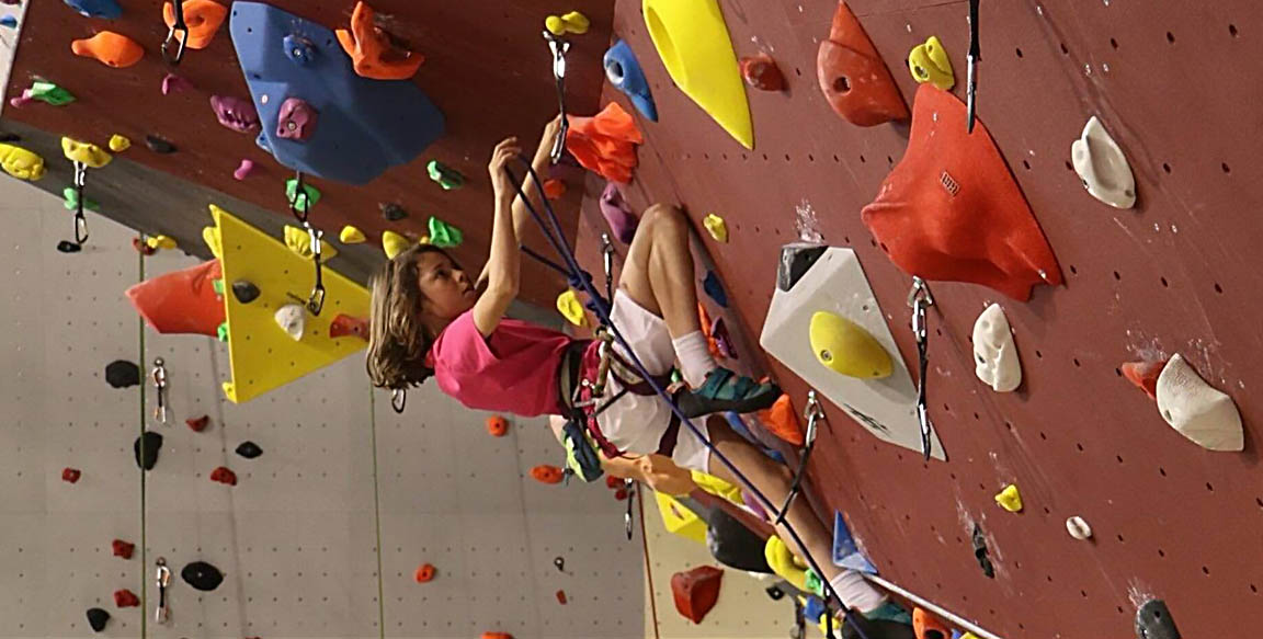 Ariane, jeune et vieille grimpeuse à la fois