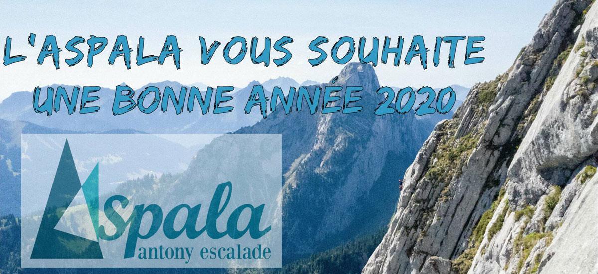 En 2020, on vous souhaite plein de grimpe !