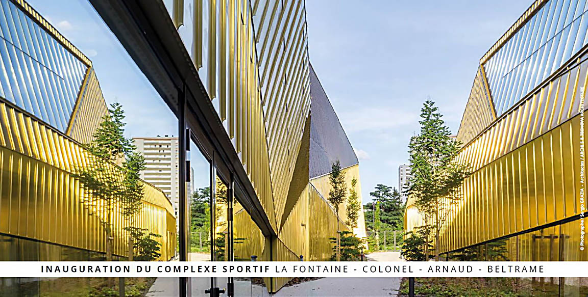 Inauguration du complexe sportif La Fontaine – Colonel Arnaud Beltrame
