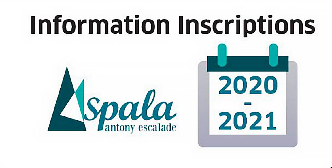 Information Inscriptions 2020-2021