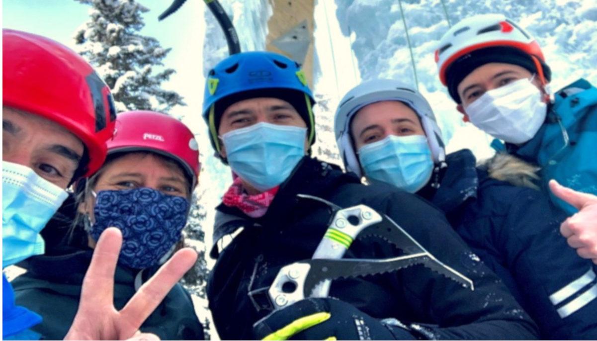 Retour sur la sortie ski de randonnée… et cascade de glace à Pralognan-la-Vanoise