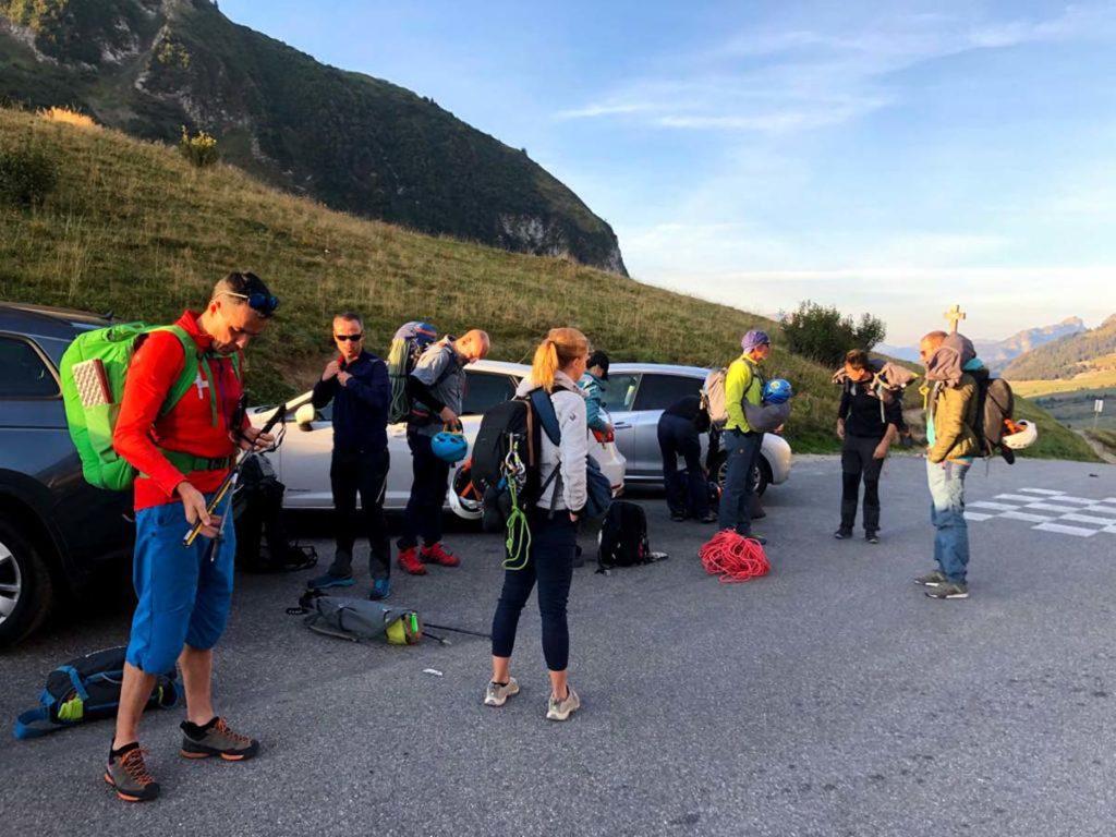 Aspala Escalade : sortie au Massif des Bornes (Haute-Savoie)